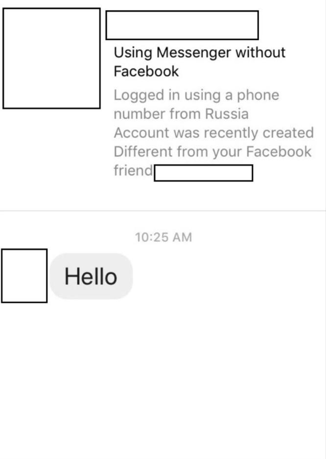 Facebook thử nghiệm tính năng cảnh báo tin nhắn lừa đảo ảnh 1