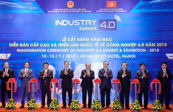 Ấn tượng VNPT tại Diễn đàn và Triển lãm Industry Summit 2018 ảnh 1