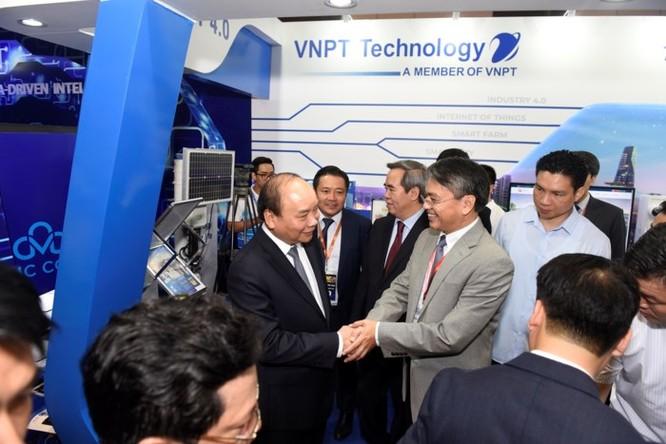 Ấn tượng VNPT tại Diễn đàn và Triển lãm Industry Summit 2018 ảnh 3