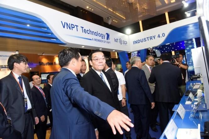 Ấn tượng VNPT tại Diễn đàn và Triển lãm Industry Summit 2018 ảnh 7