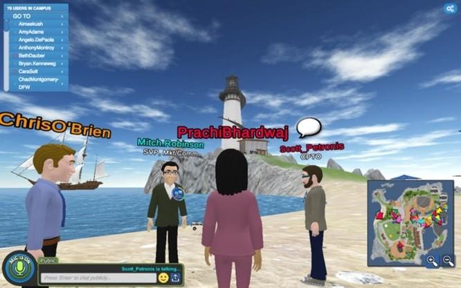 Không cần văn phòng, công ty này cho cả 8.000 nhân viên làm việc trên một... hòn đảo ảo ảnh 9