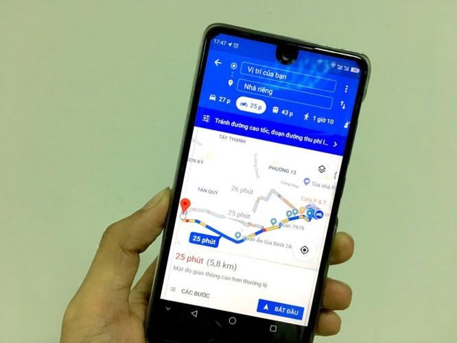 Cách tìm đường đi bằng xe máy trên Google Maps ảnh 1