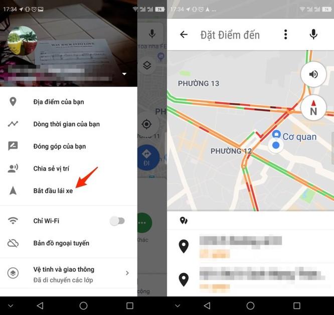 Cách tìm đường đi bằng xe máy trên Google Maps ảnh 3