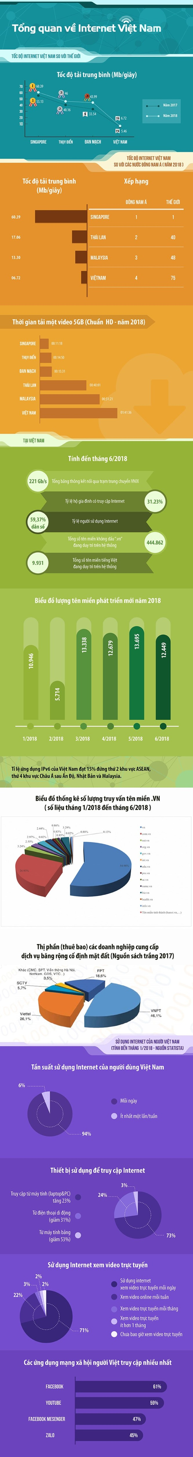 Những con số đáng chú ý về Internet của Việt Nam ảnh 1
