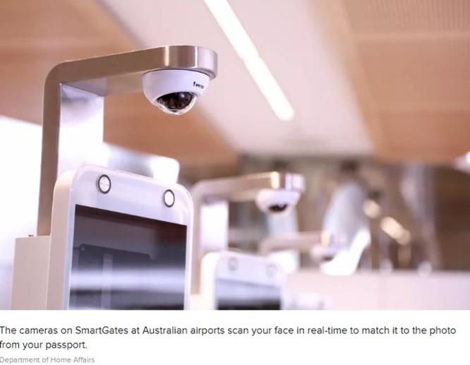 Hệ thống sân bay Úc đang thử nghiệm nhận diện khuôn mặt mà không cần passport ảnh 1