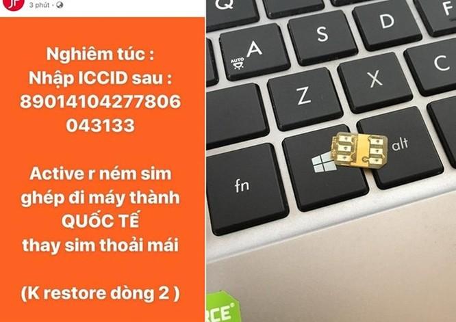 iPhone khóa mạng thành máy quốc tế, không cần SIM ghép ở VN ảnh 1