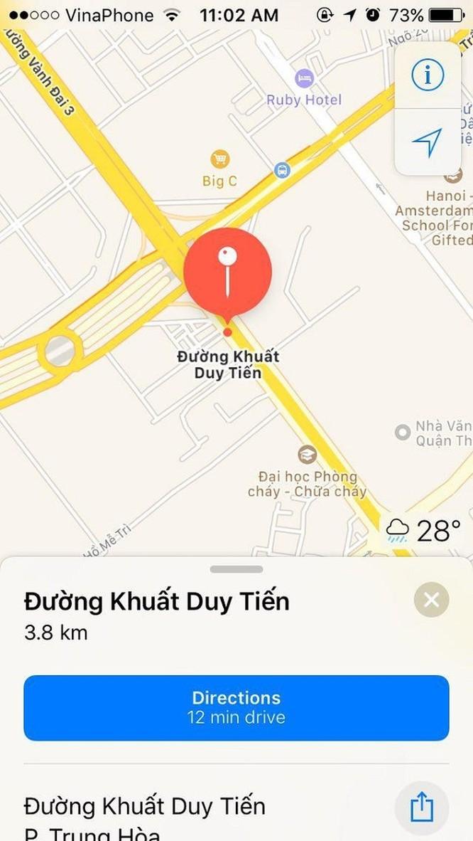Hướng dẫn cách xem tắc đường trực tuyến cho iPhone ảnh 2