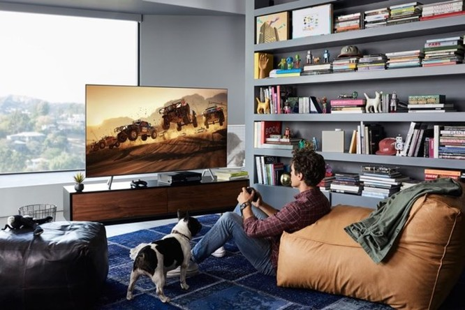 Samsung giới thiệu Q6F, mẫu TV giá rẻ nhất trong dòng TV QLED 2018 ảnh 2