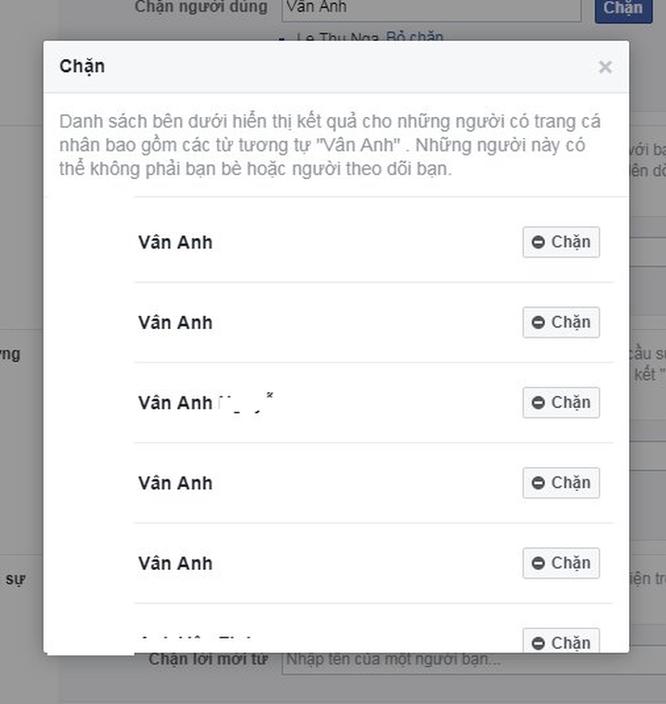 Cách chặn Facebook người đã chặn Facebook mình ảnh 3