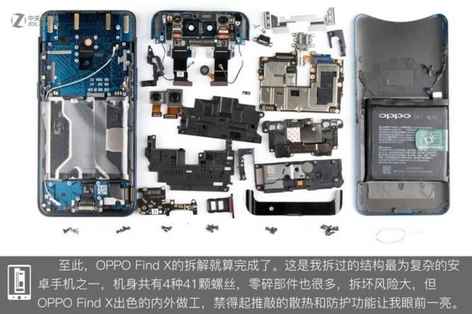 'Mổ bụng' Oppo Find X: cơ chế camera trượt giống Vivo NEX ảnh 6