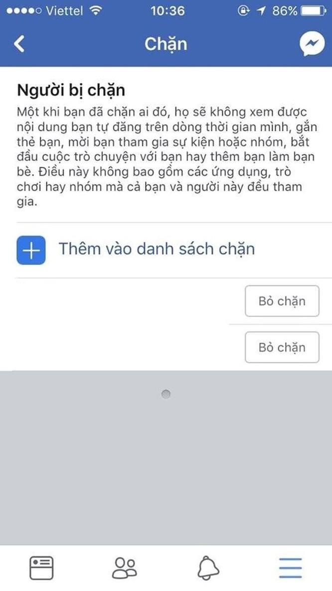 Cách chặn Facebook người đã chặn Facebook mình ảnh 7