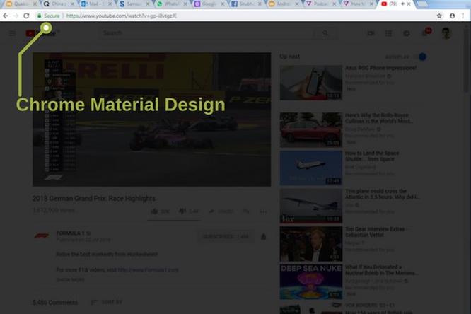 Hướng dẫn kích hoạt giao diện Material Design mới toanh trên trình duyệt Chrome ảnh 1