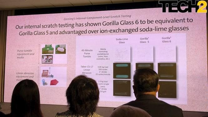 Corning giới thiệu Gorilla Glass 6 cứng gấp đôi Gorilla Glass 5 ảnh 2