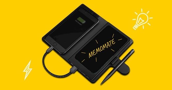 Thiết bị kỳ lạ này sẽ giúp bạn vừa ghi chú, vừa sạc iPhone cùng lúc ảnh 1
