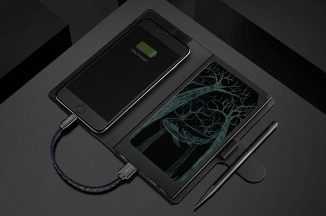 Thiết bị kỳ lạ này sẽ giúp bạn vừa ghi chú, vừa sạc iPhone cùng lúc ảnh 6