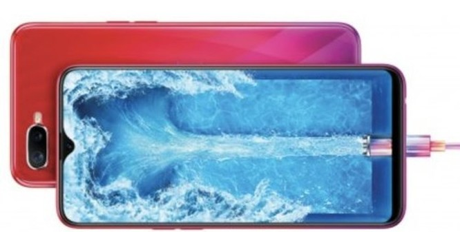 Oppo hé lộ smartphone F9 tại Việt Nam, màn hình tràn như Find X ảnh 1