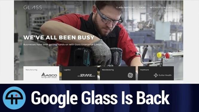 Google Glass đã trở lại, và tìm thấy nơi mà nó thuộc về ảnh 1