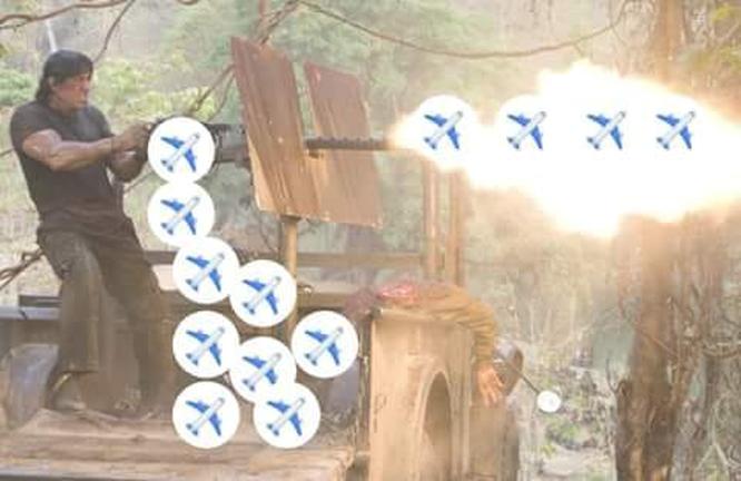 Hướng dẫn gửi biểu cảm máy bay 'addplanereact' đang hot nhất trên mạng hôm nay ảnh 2