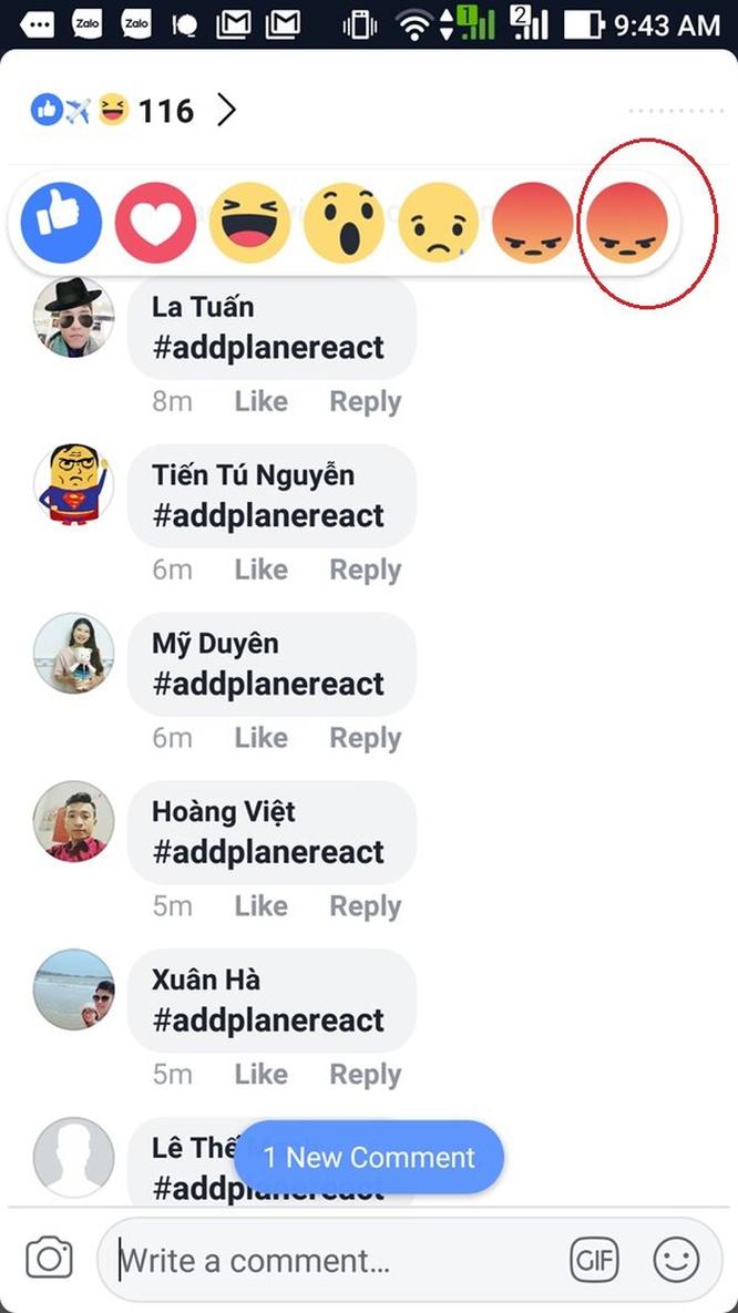 Hướng dẫn gửi biểu cảm máy bay 'addplanereact' đang hot nhất trên mạng hôm nay ảnh 5