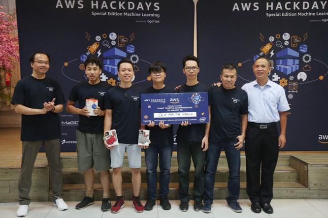 Cuộc thi AWS Hackdays Vietnam 2018 đã tìm được đội vô địch ảnh 1