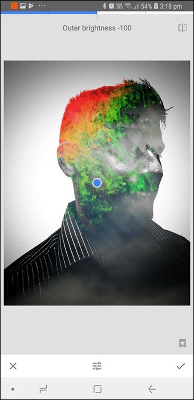 Hướng dẫn tạo hiệu ứng chồng ảnh trong Snapseed ảnh 6