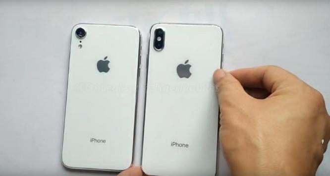 Rò rỉ hình ảnh iPhone 6,1 inch và iPhone X Plus ảnh 1