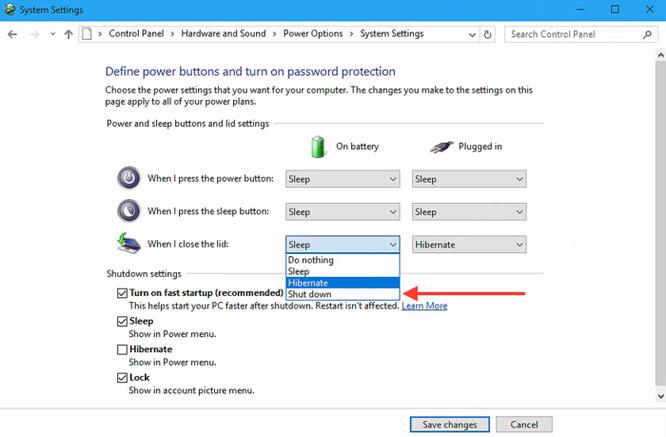 Cách tắt máy tính không cần nhấn nút nguồn ảnh 3