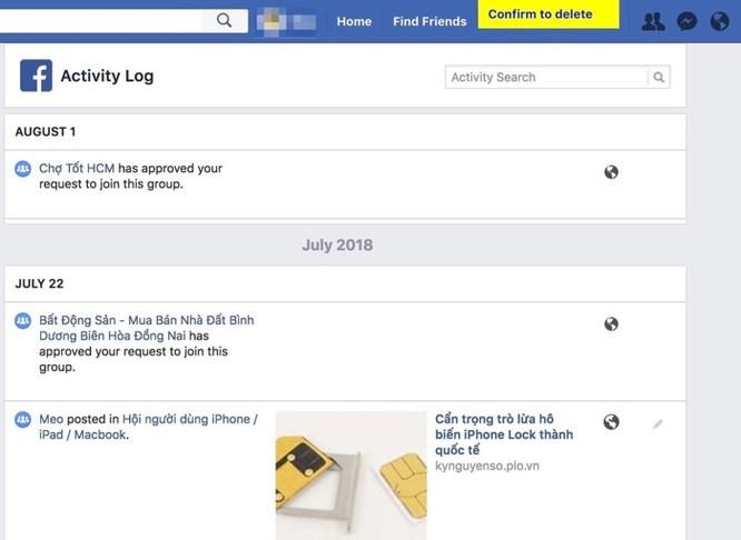 Cách xóa dữ liệu Facebook nhưng giữ lại tài khoản ảnh 2