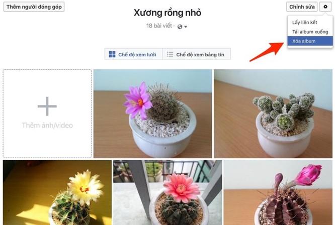 Cách xóa dữ liệu Facebook nhưng giữ lại tài khoản ảnh 3