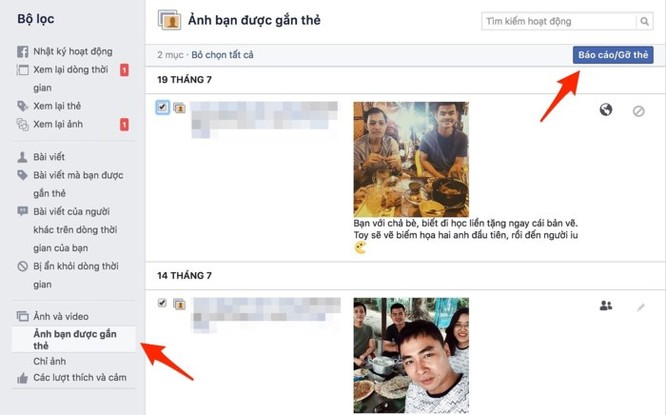 Cách xóa dữ liệu Facebook nhưng giữ lại tài khoản ảnh 5