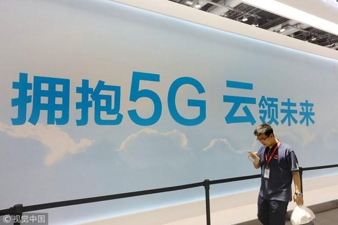 Trung Quốc vượt xa Mỹ trong cuộc đua 5G ảnh 1