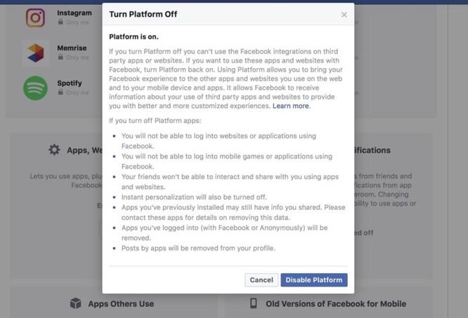 Cách chặn ứng dụng của bên thứ ba sử dụng dữ liệu Facebook của bạn ảnh 10