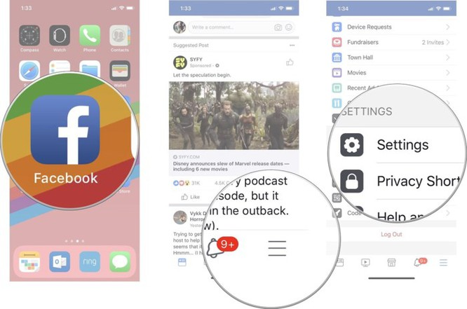 Cách ngăn không cho Facebook theo dõi vị trí ảnh 3