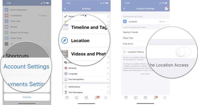 Cách ngăn không cho Facebook theo dõi vị trí ảnh 5
