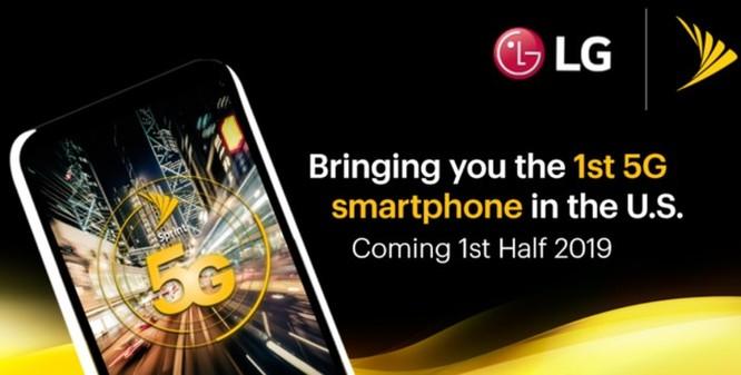 LG sẽ trình làng smartphone 5G đầu tiên tại Mỹ ảnh 1