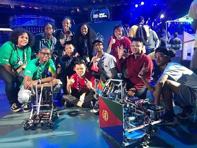 Học sinh Việt Nam xếp hạng 12/161 tại cuộc thi robot thế giới 'First Global Challenge 2018' ảnh 3
