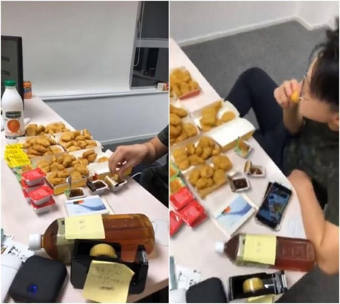 Thanh niên Hồng Kông livestream màn ăn 90 miếng gà McNuggets trong 90 phút và cái kết đắng ảnh 2