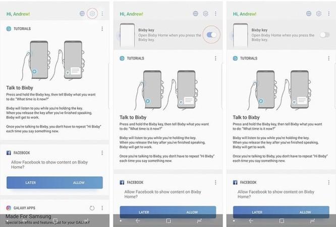 Cách tắt 5 tính năng phiền toái trên Samsung Galaxy S9 ảnh 1