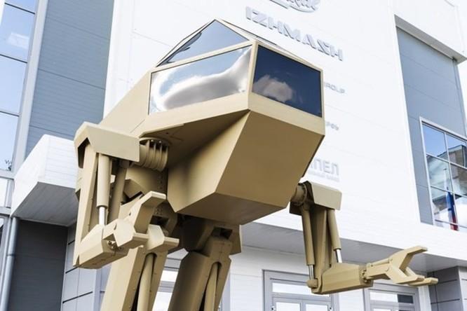 Nga trình làng robot chiến đấu khổng lồ với thiết kế giống 'khủng long bạo chúa' ảnh 3