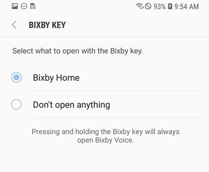 Người dùng sẽ không thể tắt Bixby trên Galaxy Note 9 ảnh 2