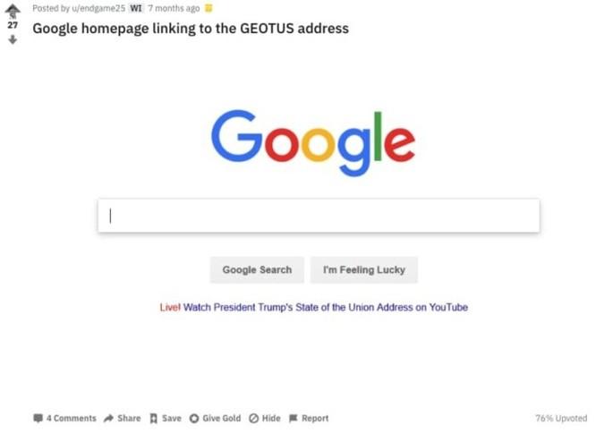 TT Trump tiếp tục công kích Google trên Twitter ảnh 1