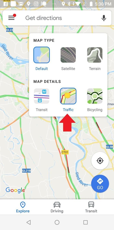 Hướng dẫn tránh tắc đường bằng Google Traffic mới nhất ảnh 4
