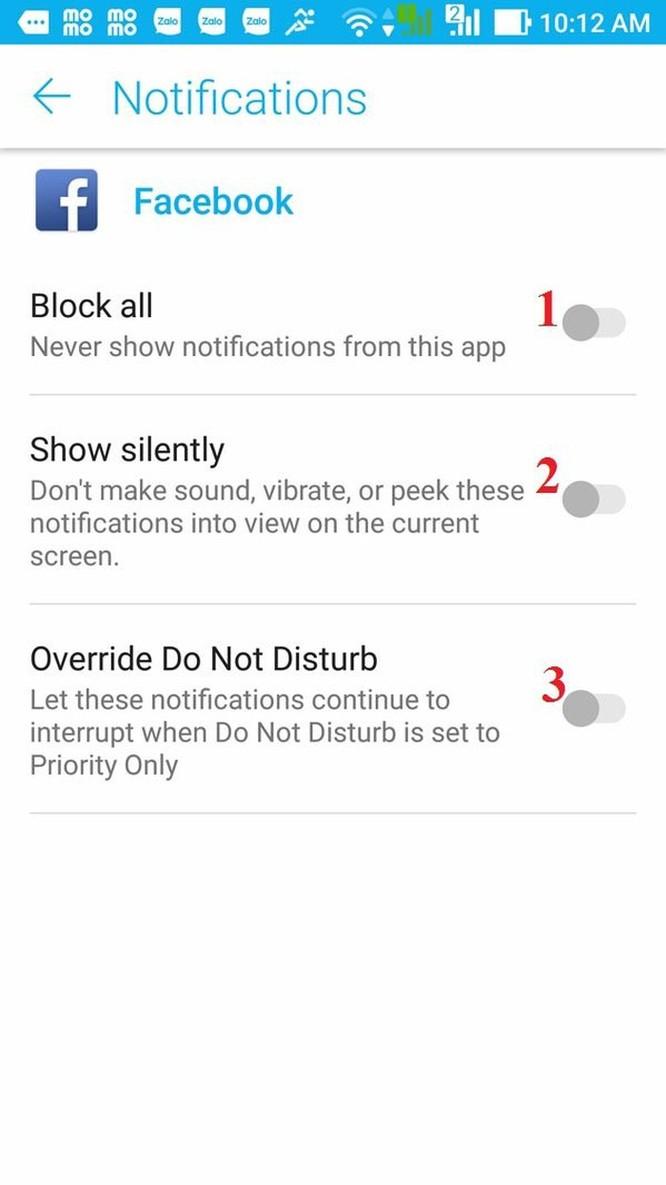 Hướng dẫn tắt thông báo Facebook trên điện thoại ảnh 7