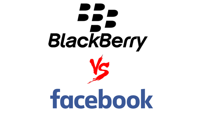 Facebook kiện trả đũa BlackBerry ảnh 1