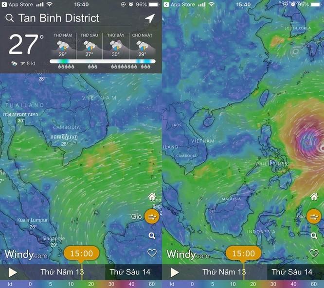 Cách theo dõi đường đi của siêu bão Mangkhut ảnh 1