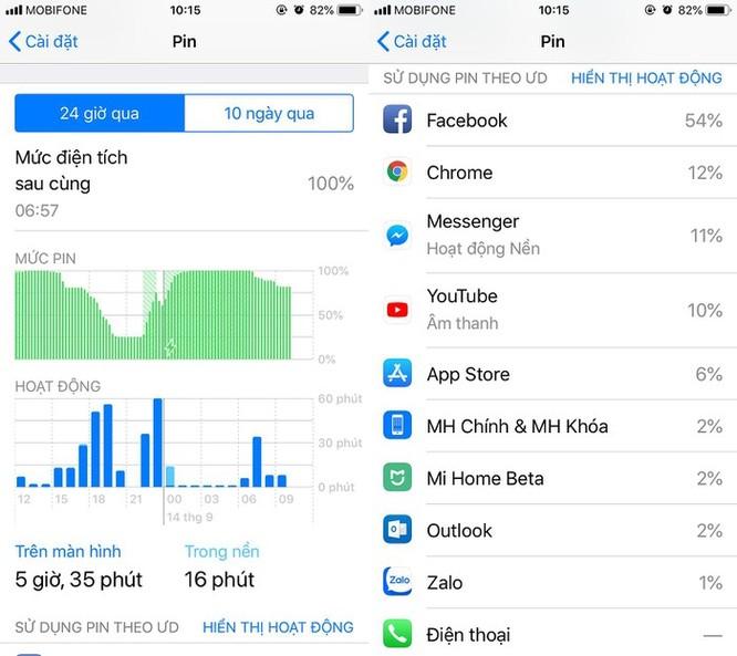 6 cách sửa lỗi hao pin trên iOS 12 ảnh 2