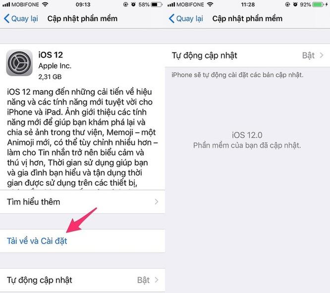 6 cách sửa lỗi hao pin trên iOS 12 ảnh 1