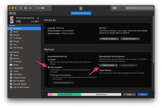7 việc cần làm trước khi nâng cấp lên iOS 12 ảnh 4