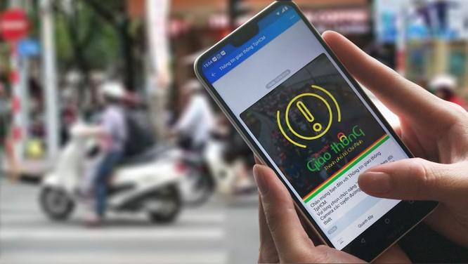 Chatbot giúp tra cứu tuyến đường kẹt xe tại TP HCM ảnh 1