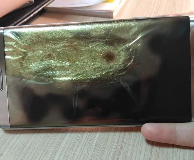 Samsung Galaxy S7 Edge bất ngờ phát nổ ảnh 2